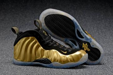 sports shoes e5595 162c5 Nike Air Foamposite One Metallic Gold Black 314996-700