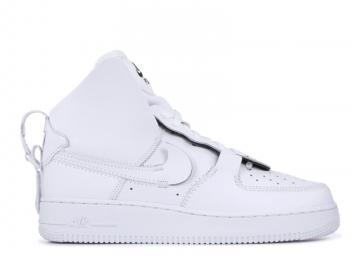 detailed look 55934 54583 Air Force 1 High Psny White Black AO9292-101