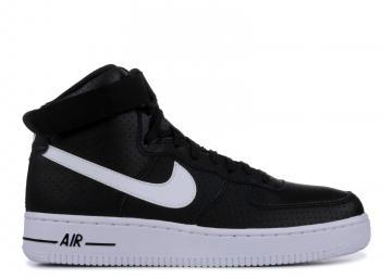 b38c1714b8d Nike Air Force 1 High GS Black White 653998-010