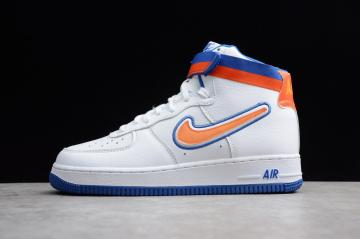 b5ca4a86c05990 Nike Air Force 1 High Sport Knicks White AV3938-100