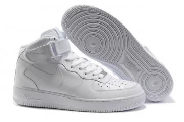 70eec2a0961 Nike Air Force 1 High White Unisex Casual Shoes 315121-110