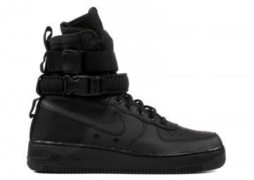 new style a5135 b3db6 W Nike Air Force 1 Sf Af1 Black 857872-002