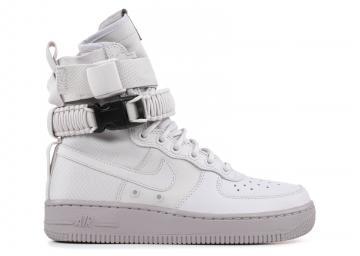 the latest 720bd 558d5 W Nike Air Force 1 Sf Af1 Grey Vast 857872-003