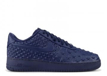 Nike Air Force 1 Lv8 VT Star 789104 400 Midnight Independence Day Shoes Men's 17
