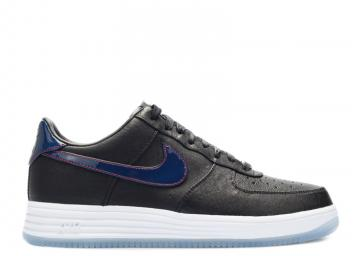 Lunar Force 1 Low Quickstrike Patriots Navy College University Black Red  836341-001 0364ff0a5bbf