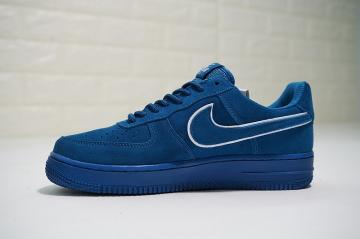 2b5cb446b Nike Air Force 1 '07 LV8 Suede Blue Casual Shoes AA1117-400