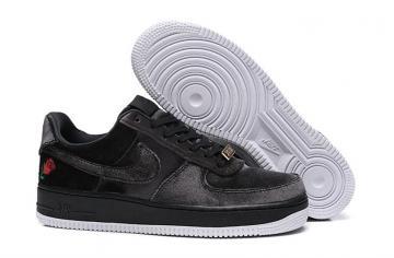 brand new 87f44 f538f Nike Air Force 1 07 QS Low AF1 Black Velvet Rose AH8462-003