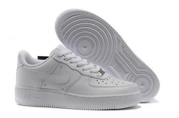 2e854fb18f4a1 Nike Air Force 1  07 Womens Shoes Pure White 315115-112