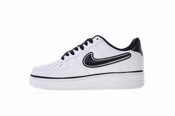 dbb5332b9d3 Nike Air Force 1 Low  07 LV8 NBA Sport White Sneakers AJ7748-100