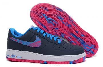 3cfeb91245e0 Nike Air Force 1 Low Midnight Navy Light Photo Blue Vivid Pink 488298-423