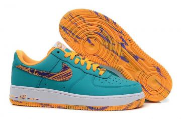 new concept 74cb1 a4719 ... best authentic Nike Air Force 1 Low Turbo Green Purple Venom Atomic  Mango 488298-313 ...