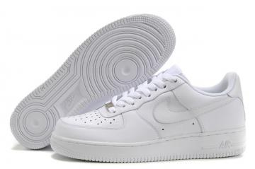 separation shoes 28b1e d88b6 Nike Air Force 1 Low White Unisex Casual Shoes 315122-111
