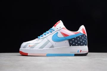 huge discount 43f47 616bc Nike Air Force 1 Parra White Multi Color Mens AH8462-100