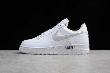 OFF WHITE x Nike Air Force 1  07 low White AA3825-100 5d7676e3a