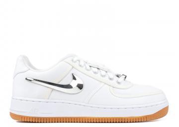 f72aa4358 Travis Scott x Nike Air Force 1 Low White AQ4211-100