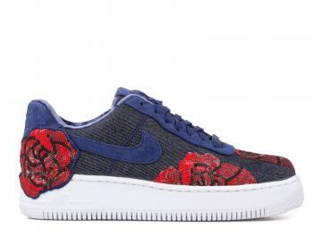 wholesale dealer 385ca c59de W Nike Air Force 1 Af1 Upstep Lx Blue Binary 898421-401