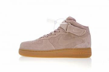 on sale 845a4 5cdc1 Nike Air Force 1 Mid  07 Pink Gum Casual Shoes AA0284-600
