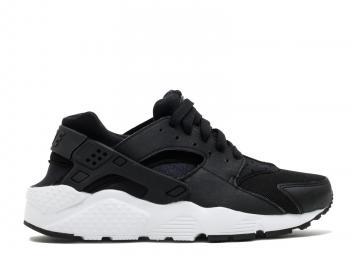 7efb71fb172a Nike Air Huarache Run GS White Black 654275-011