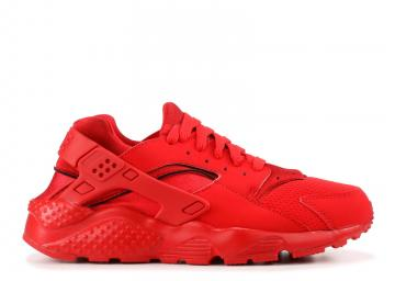 4d3114745eb4a Huarache Run GS Triple Red Rd University 654275-600