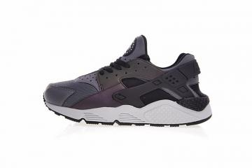 online store ff70b 9efab Nike Air Huarache Run Premium Dark Grey Black Pure Platinum 704830-007