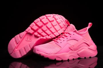 check out 603ad eef06 Nike Air Huarache Run Ultra Breathe Women Sneakers Shoes All Pink 833292-600