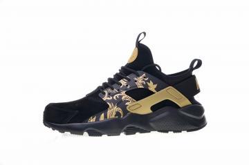 ba6febc702f16 Nike Air Huarache Run Ultra ID Black Gold 829669-661