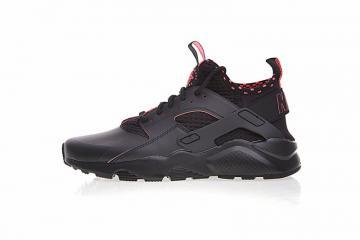 brand new 3f30e 68450 Nike Air Huarache Ultra Flyknit ID Black Solar Red 875841-005