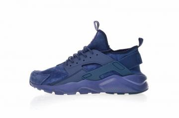 new style a4e7a 60e54 Nike Air Huarache Ultra Suede ID Navy Blue Athletic Shoes 829669-332