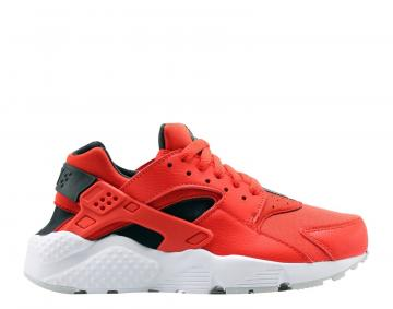 best service 515f5 fc6f1 Nike Huarache Run GS Habanero Red Black White Big Kids Running Shoes  654275-605
