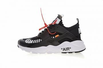 wholesale dealer a4fb0 92604 Off White x Nike Air Huarache Ultra Black White Orange AA3841-001