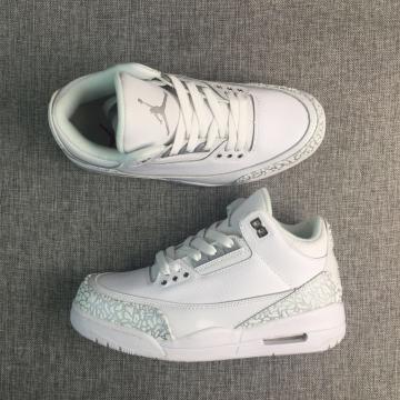 0da2f814530c06 Nike Air Jordan III 3 Retro White Men Shoes