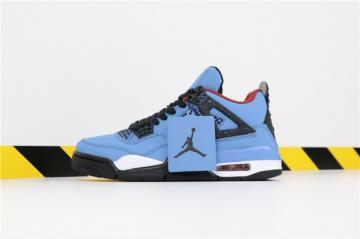 dd2dfa22d60 Travis Scott X Nike Air Jordan 4 Retro Houston Oilers 308497-406