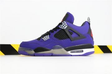 73ced6ba5e6284 Travis Scott X Nike Air Jordan 4 Retro PURPLE 308497-510