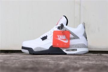 1f3833eaed5 Nike Air Jordan 4 Retro OG White Cement 840606-192