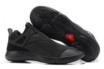 59b556c65332f2 Nike Air Jordan Fly 89 AJ4 all black Running Shoes