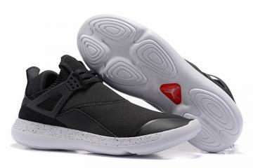 dcfa3d3f809670 Nike Air Jordan Fly 89 AJ4 black white bottom Running Shoes