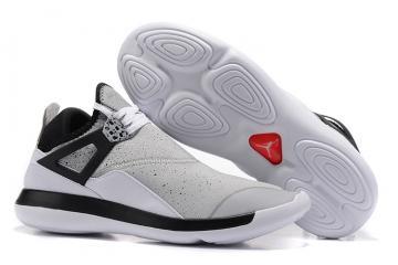 b4710214522794 Nike Air Jordan Fly 89 AJ4 white black Running Shoes