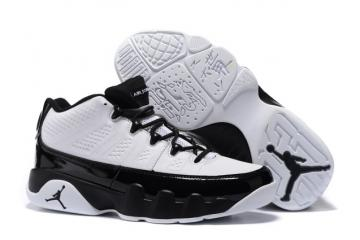 9cdac8aacdd96e Nike Air Jordan 9 IX Retro Low Men Shoes White Black 832822 102