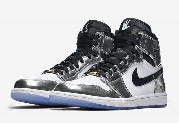 e05d49b6dce312 Air Jordan 1 Retro High Pass The Torch Chrome White-Turbo Green-Black  AQ7476-016