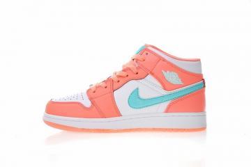 092a41b6aa1bd5 Air Jordan 1 Mid GS Crimson Pulse Sports Shoes 555112-814
