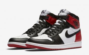 0d14ddcdc3a9 Air Jordan 1 Retro High OG - Black Toe 2016 Black White - Varsity Red 555088 -125