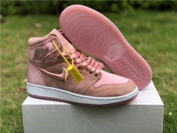 eda1b98eb7bc15 Nike Air Jordan I 1 Women Basketball Shoes Pink All