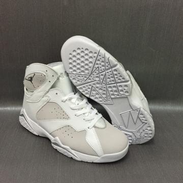 5ce93fb1819 2017 Air Jordan Retro 7 White Pure Platinum PRE ORDER MEN SHOES