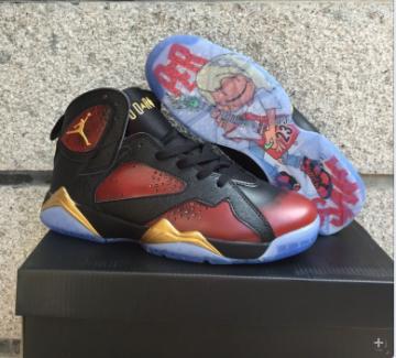 f2ff565bdaf19e Nike Air Jordan Retro 7 VII DB Doernbecher Damien Phillips Men Shoes  898651-015