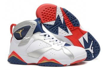 78e343ecdeb Nike Air Jordan 7 VII Retro Olympic White Gold Obsdn Red 304775 135