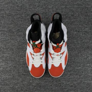 4c84bc5db64 Nike Air Jordan VI 6 Retro Men Basketball Shoes White Red 384664-160
