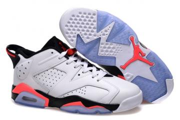 best service 53f0d b245b Nike Air Jordan 6 VI Low Infrared Mens Retro Basketball Shoes 304401 123