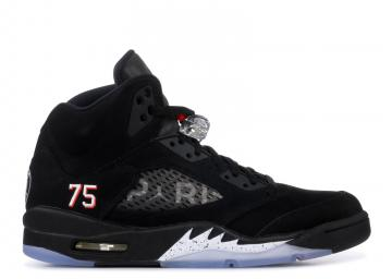 finest selection 538d8 d7e0a Air Jordan 5 Retro BCFC psg Paris Saint-Germain Black Challenge Red-White  AV9175-001