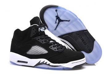 a147085997d735 Nike Air Jordan V 5 Retro GS Oreo Black White Cool Grey 440888 035