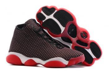 683910e566c Nike Air Jordan Horizon Bred Black Gym Red Men Shoes 823581-001